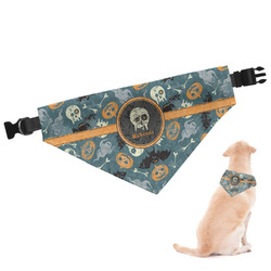 Vintage / Grunge Halloween Dog Bandana (Personalized)