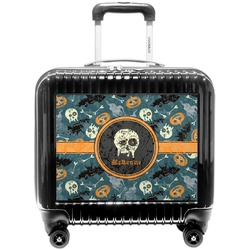 Vintage / Grunge Halloween Pilot / Flight Suitcase (Personalized)