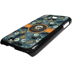Vintage / Grunge Halloween Plastic Samsung Galaxy 4 Phone Case (Personalized)