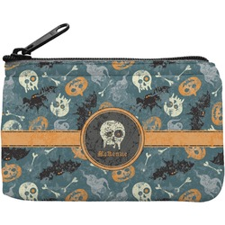 Vintage / Grunge Halloween Rectangular Coin Purse (Personalized)