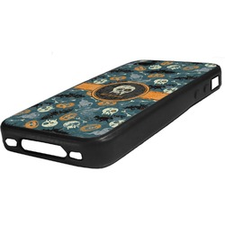 Vintage / Grunge Halloween Rubber iPhone Case 4/4S (Personalized)