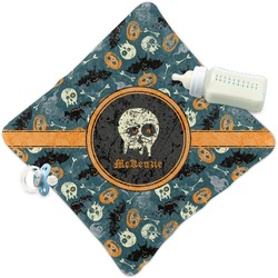 Vintage / Grunge Halloween Security Blanket (Personalized)