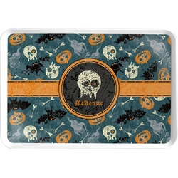 Vintage / Grunge Halloween Serving Tray (Personalized)