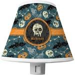 Vintage / Grunge Halloween Shade Night Light (Personalized)