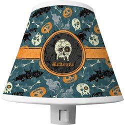 Vintage / Grunge Halloween Shade Night Light (Personalized)
