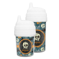 Vintage / Grunge Halloween Sippy Cup (Personalized)