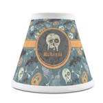 Vintage / Grunge Halloween Chandelier Lamp Shade (Personalized)