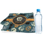 Vintage / Grunge Halloween Sports & Fitness Towel (Personalized)
