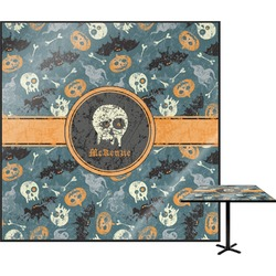 Vintage / Grunge Halloween Square Table Top (Personalized)