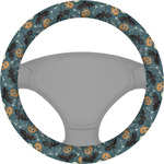 Vintage / Grunge Halloween Steering Wheel Cover (Personalized)