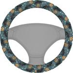 Vintage / Grunge Halloween Steering Wheel Cover (Personalized)