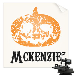 Vintage / Grunge Halloween Sublimation Transfer (Personalized)