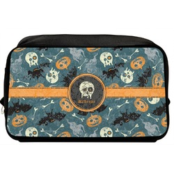 Vintage / Grunge Halloween Toiletry Bag / Dopp Kit (Personalized)