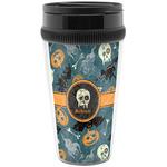 Vintage / Grunge Halloween Travel Mug (Personalized)
