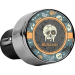 Vintage / Grunge Halloween USB Car Charger (Personalized)