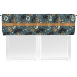 Vintage / Grunge Halloween Valance (Personalized)