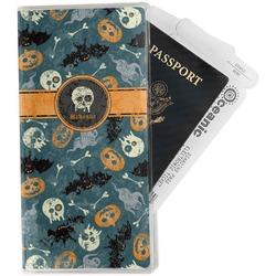 Vintage / Grunge Halloween Travel Document Holder