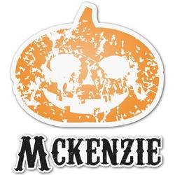 Vintage / Grunge Halloween Graphic Decal - Medium (Personalized)