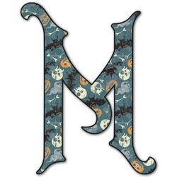 Vintage / Grunge Halloween Letter Decal - Custom Sized (Personalized)