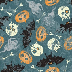 Vintage / Grunge Halloween Wallpaper & Surface Covering