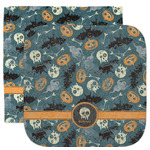 Vintage / Grunge Halloween Facecloth / Wash Cloth (Personalized)