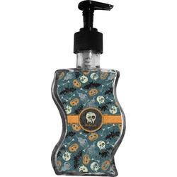 Vintage / Grunge Halloween Wave Bottle Soap / Lotion Dispenser (Personalized)