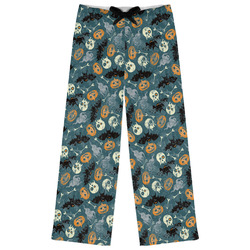 Vintage / Grunge Halloween Womens Pajama Pants (Personalized)