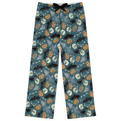 Vintage / Grunge Halloween Womens Pajama Pants (Personalized)