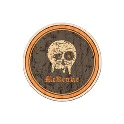 Vintage / Grunge Halloween Genuine Wood Sticker (Personalized)