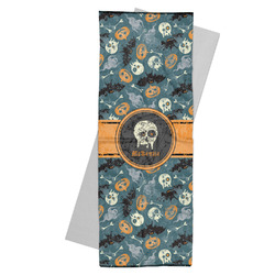 Vintage / Grunge Halloween Yoga Mat Towel (Personalized)