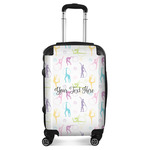 Gymnastics with Name/Text Suitcase (Personalized)