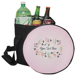 Gymnastics with Name/Text Collapsible Cooler & Seat (Personalized)