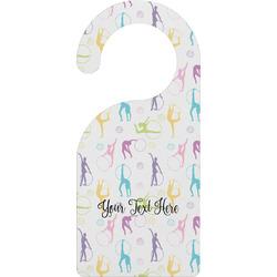 Gymnastics with Name/Text Door Hanger (Personalized)