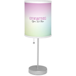 "Gymnastics with Name/Text 7"" Drum Lamp with Shade (Personalized)"