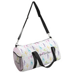 Gymnastics with Name/Text Duffel Bag (Personalized)