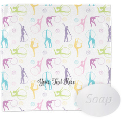 Gymnastics with Name/Text Wash Cloth (Personalized)