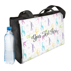 Gymnastics with Name/Text Ladies Workout Bag (Personalized)