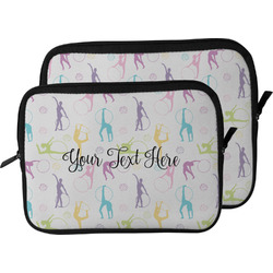 Gymnastics with Name/Text Laptop Sleeve / Case (Personalized)