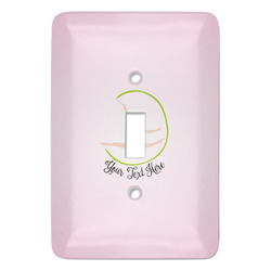 Gymnastics with Name/Text Light Switch Covers (Personalized)