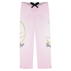 Gymnastics with Name/Text Mens Pajama Pants (Personalized)
