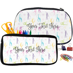 Gymnastics with Name/Text Pencil / School Supplies Bag (Personalized)