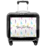 Gymnastics with Name/Text Pilot / Flight Suitcase (Personalized)