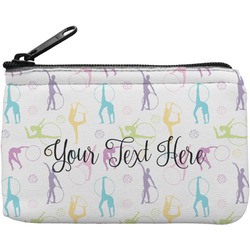 Gymnastics with Name/Text Rectangular Coin Purse (Personalized)