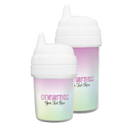 Gymnastics with Name/Text Sippy Cup (Personalized)