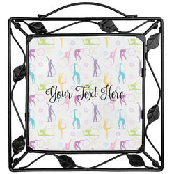 Gymnastics with Name/Text Trivet (Personalized)