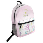 Gymnastics with Name/Text Student Backpack (Personalized)
