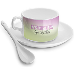 Gymnastics with Name/Text Tea Cups (Personalized)