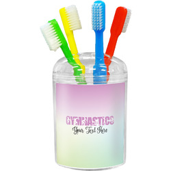 Gymnastics with Name/Text Toothbrush Holder (Personalized)