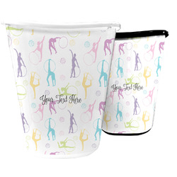 Gymnastics with Name/Text Waste Basket (Personalized)