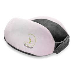 Gymnastics with Name/Text Travel Neck Pillow